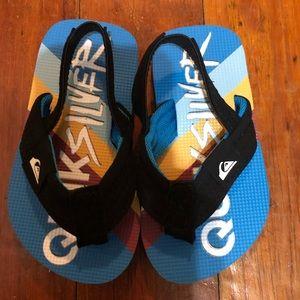 Quicksilver flip flops. Brand new never worn.